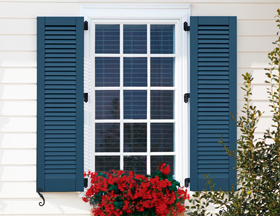 fixed shutters